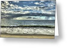 Moss Landing In The Clouds Greeting Card