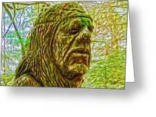 Moss Man - 02 Greeting Card