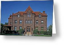 Moss Mansion - Billings Montana Greeting Card