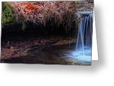 Mossy Falls Greeting Card