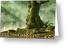 Mossy Old Oak Greeting Card