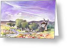 Mota Del Cuervo 04 Greeting Card