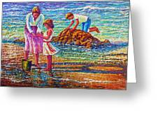 Mother And Child II Greeting Card