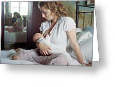 Mother Breastfeeding Greeting Card