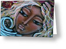 Mother Divine Greeting Card