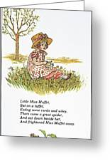 Mother Goose, 1881 Greeting Card