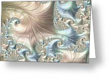 Mother Of Pearl - A Fractal Abstract Greeting Card