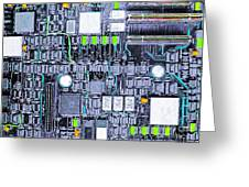 Motherboard Abstract 20130716 P38 Greeting Card