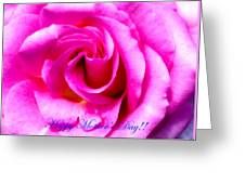 Mother's Day Rose Greeting Card