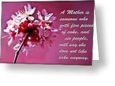 Mother's Day Sharing Greeting Card