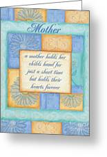 Mother's Day Spa Card Greeting Card