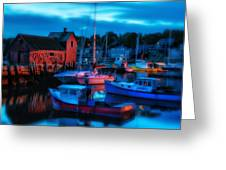 Motif No 1 Rockport Massachusetts Greeting Card by Thomas Schoeller