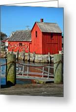 Motif Number One Rockport Lobster Shack Maritime Greeting Card