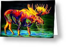 Motley Moose Greeting Card