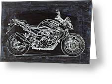 Moto Art 41 Greeting Card