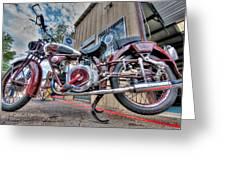 Moto Guzzi Classic Greeting Card