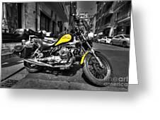 Moto Guzzi Greeting Card