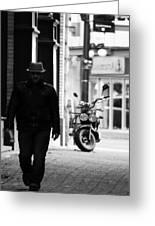 Motorcycle Diaries  Greeting Card