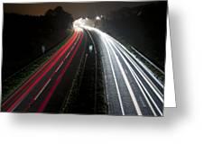 Motorway Greeting Card