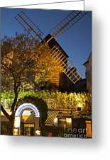Moulin De La Galette Greeting Card