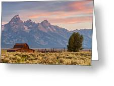 Moulton Barn - Grand Teton National Park Greeting Card