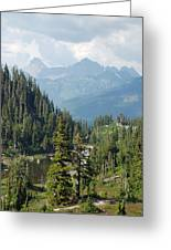 Mount Baker Area Washington Greeting Card