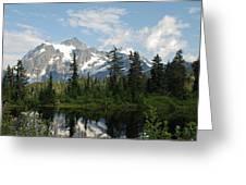 Mount Baker  Greeting Card