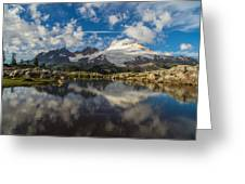 Mount Baker Cloudscape Greeting Card