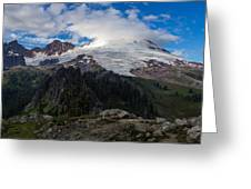 Mount Baker View Greeting Card