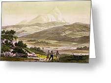 Mount Cayambe, Ecuador, From Le Costume Greeting Card