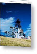 Mount Con Mine 2 Butte Mt Greeting Card by Kevin Bone
