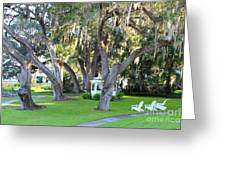 Mount Dora Greeting Card by Carey Chen