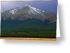 Mount Elbert Greeting Card