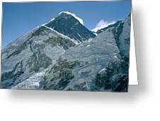 Mount Everest Morning Greeting Card