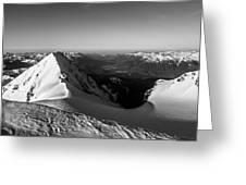 Mount Garibaldi Summit  Greeting Card