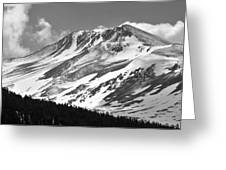 Mount Gibbs On A Frozen Morning In Yosemite National Park Greeting Card