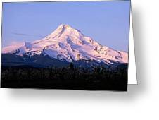 Mount Hood Oregon Greeting Card