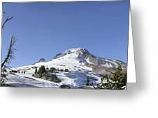 Mount Hood Oregon Panorama Greeting Card