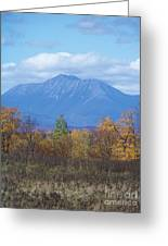 Mount Katahdin From Stacyville 2 Greeting Card