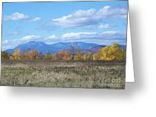 Mount Katahdin From Stacyville Greeting Card