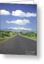 Mount Kenya Greeting Card