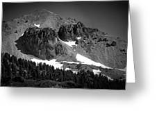 Mount Lassen Greeting Card