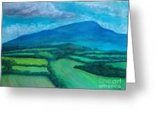 Mount Leinster Ireland Greeting Card
