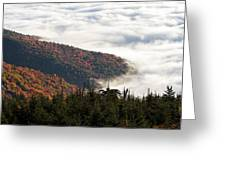 Mount Mitchell Morning Greeting Card