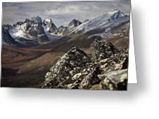 Mount Monolith From Grizzly Lake Greeting Card