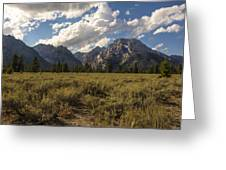 Mount Moran - Grand Teton National Park Greeting Card