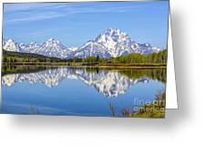 Mount Moran Greeting Card