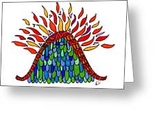 Mount Of Transformation Greeting Card