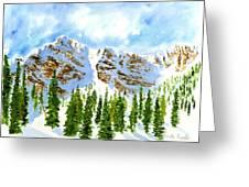 Mount Ogden Greeting Card