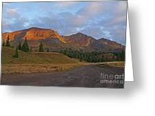 Mount Owen Sunrise Greeting Card